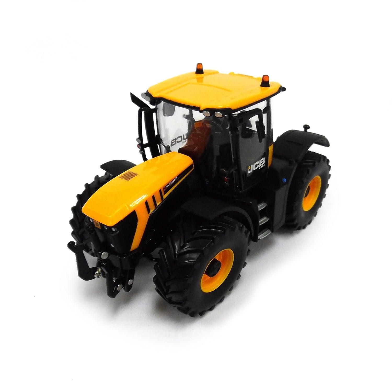 Britains Tomy JCB Fastrac 4220 - Traktor aus Metall und Kunststoff mit beweglicher Vorderachse & Hydraulik - mit klappbaren Spiegeln - für Kinder ab 3 Jahre 43124A1