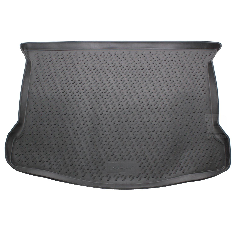 Novline MAT017 Custom Tailored Fit Black Rubber Boot Liner Tray Mat