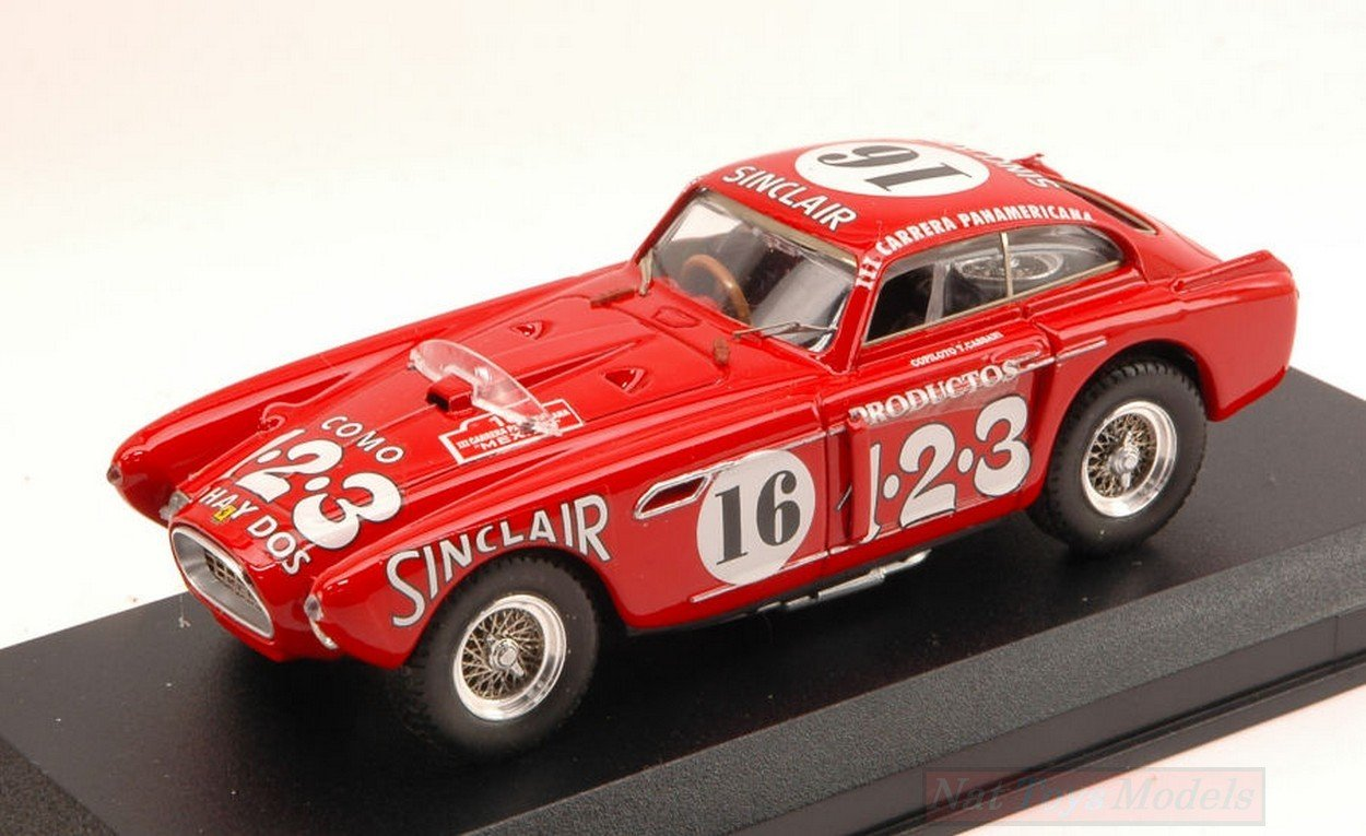 Art-Model AM0066 Ferrari 340 Mexico N.16 Carrera MESSICANA 1952 1:43 DIE CAST