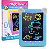 Fricon Magic Pad for Boys, Light Up Drawing Pad LCD Writing Tablet for Kids Educational Toys for 3-10 Year Old Boys…