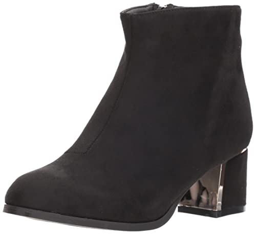 Women's Low Heeled Bootie With Heel Ornament Ankle Boot