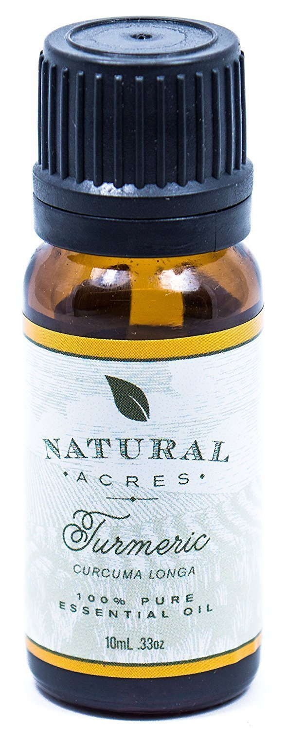 Turmeric Essential Oil - 100% Pure Therapeutic Grade Turmeric Oil by Natural Acres - 10ml