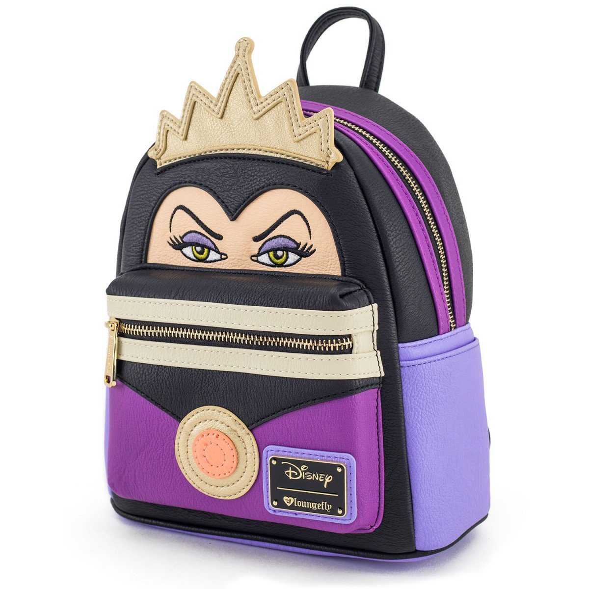 Loungefly Evil Queen 10.5 Height Mini Backpack and Wallet Set SG/_B07FF986R6/_US