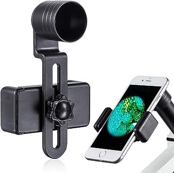 MAXLAPTER Adaptador de Lente de Microscopio, Adaptador de Cámara ...