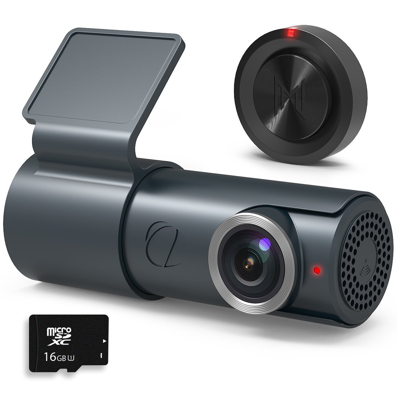 GOLUK T3 Dash Cam Full HD 1080P Night Vision WiFi with Wide Angle,WDR Dashboard Camera DVR Camcorder-G-sensor Parking Security and Loop Recording