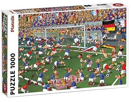 Piatnik 537349 Fussball 1000 Teile Puzzle