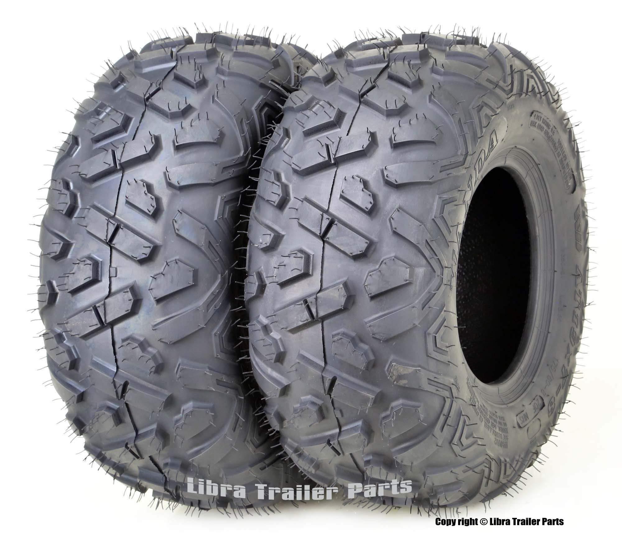 2 WANDA ATV tires 19x7-8 19x7x8 Bighorn style