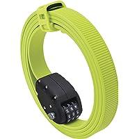 OTTOLOCK Steel & Kevlar Combination Bike Lock | Lightweight, Compact, Durable Design | Ideal for Cycling & Outdoor Gear