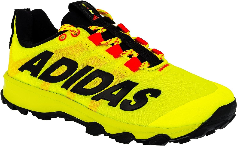 adidas - Zapatillas de Running de Material Sintético para niño Amarillo Amarillo neón, Color Amarillo, Talla 35: Amazon.es: Zapatos y complementos