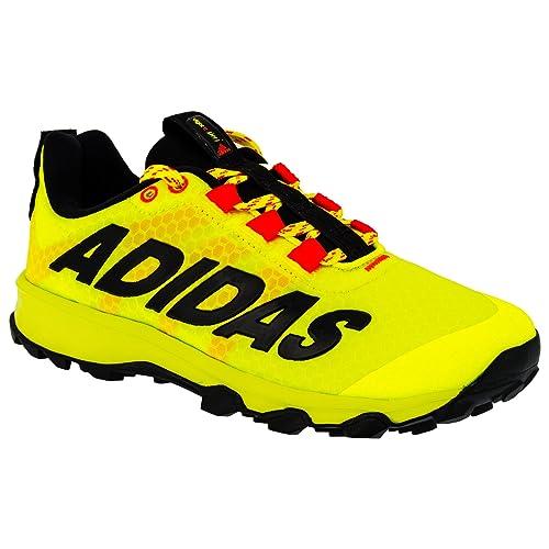Scarpe Da Adidas giallo Fluo Corsa Bambini Giallo qTnd5wg