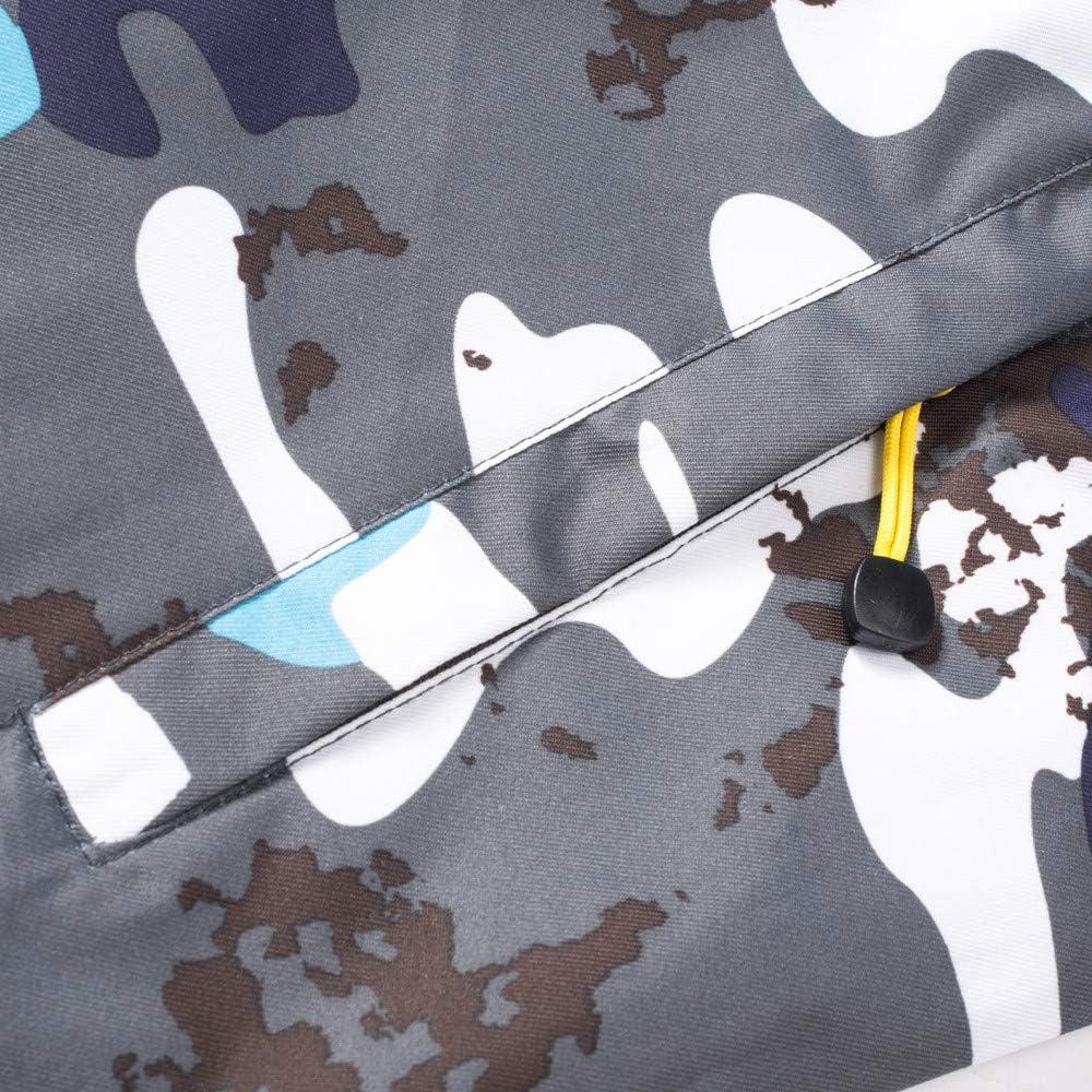 Womens Waterproof Soft Shell Camouflage Parka Windproof Ski Jacket Hooded Winter Raincoat Mountaineering Windbreaker