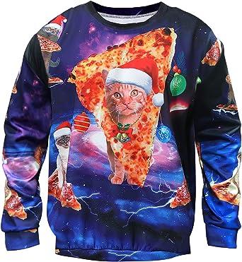 Ugly Christmas shirt funny graphic design Unisex Shirt Santa Claus holiday gift