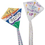 Color-Me Plastic Kites (pack of 12)