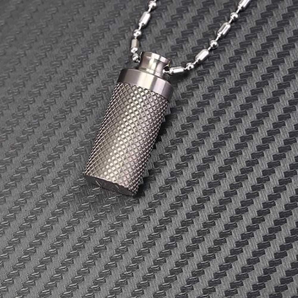 /Étui /à pilule portable pour compartiment porte-cl/és /étanche pour porte-cl/és Capsule en aluminium imperm/éable pour porte-pilule en alliage daluminium /à compartiments pour porte-cl/és