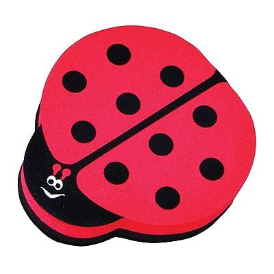 ASHLEY PRODUCTIONS Ladybug Magnetic Whiteboard Eraser: Toys & Games