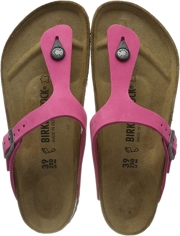 Birkenstock Gizeh BK1004278, Chanclas Mujer Rosa Pink Pink