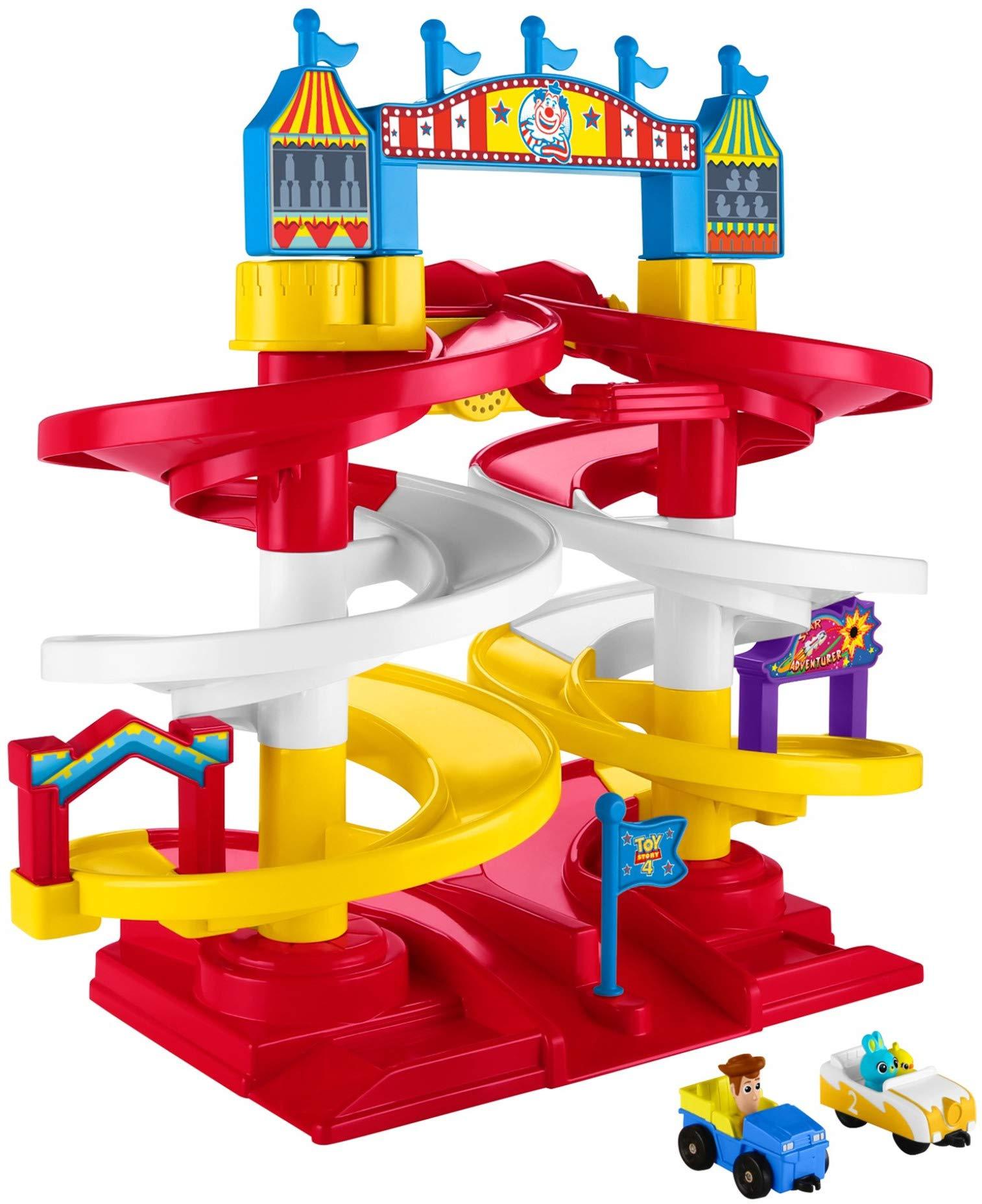Fisher-Price Disney/Pixar Toy Story 3 Big Spiral Speedway