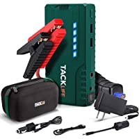 $60 » TACKLIFE T6 800A Peak 18000mAh Car Jump Starter (up to 7.0L Gas, 5.5L Diesel Engine)…
