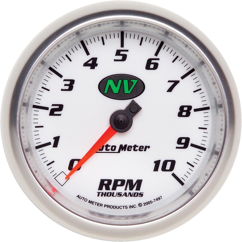 3-3//8 in. Autometer 7597 Phantom II Tachometer Gauge Electrical