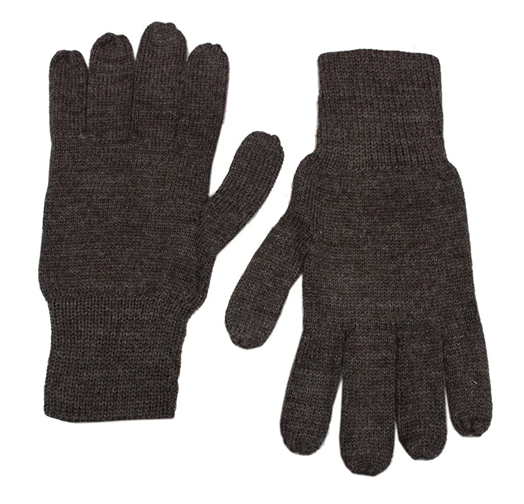 Romano Mens Black Warm Winter Gloves