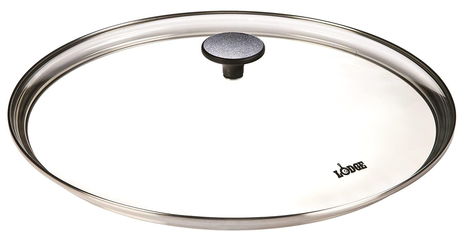 Lodge 38.10 cm / 15 inch Tempered Glass Round Lid GC15