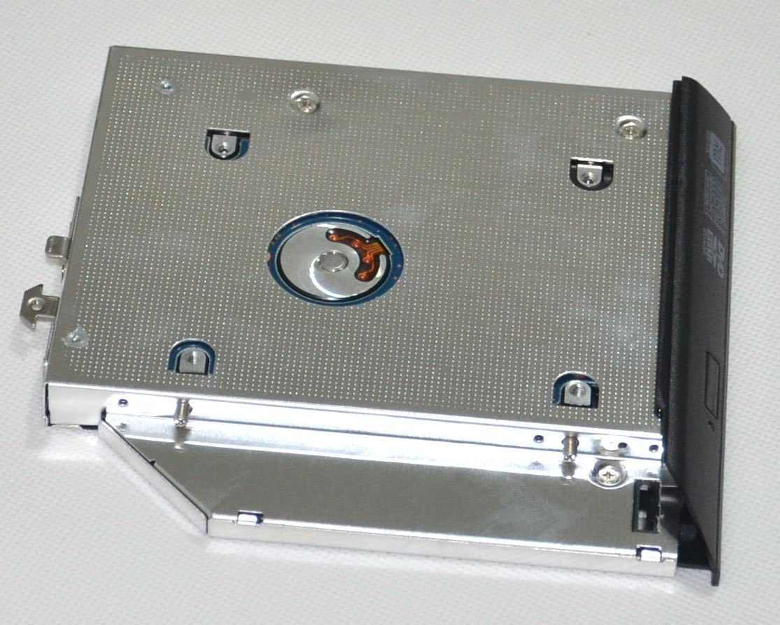 DY-tech 2nd HDD SSD Hard Drive Caddy for HP ProBook 6360b 6360t with Faceplate Bezel Mounting Bracket
