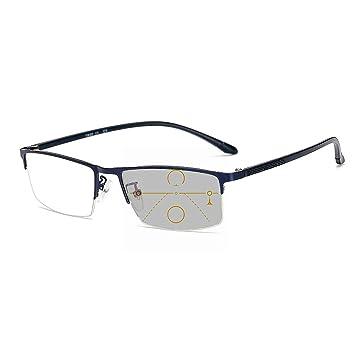 Amazon.com: Gafas de lectura fotocromáticas y progresivas ...