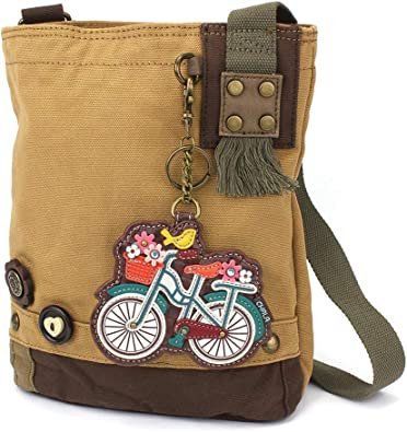 Chala Patch Cross-Body Women Handbag Dark Brown