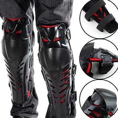 1paire de moto de protection Kneelet Racing Motocross Genouillères protection