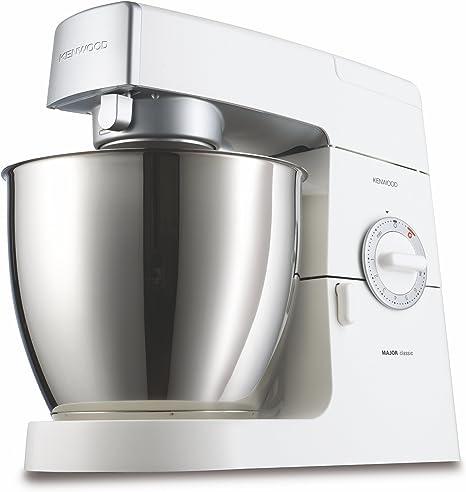 Kenwood KM636 Robot de cocina Classic Major, batidora amasadora, 900 W, metal, color blanco: Amazon.es: Hogar