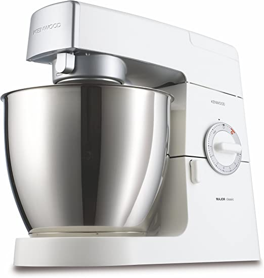 Kenwood KM636 Robot de cocina Classic Major, batidora amasadora, 900 W, metal, color blanco: Amazon.es: Hogar