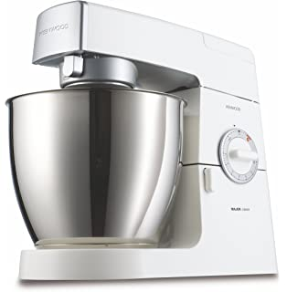 Kenwood KM636 Robot de cocina Classic Major, batidora amasadora, 900 W, metal,