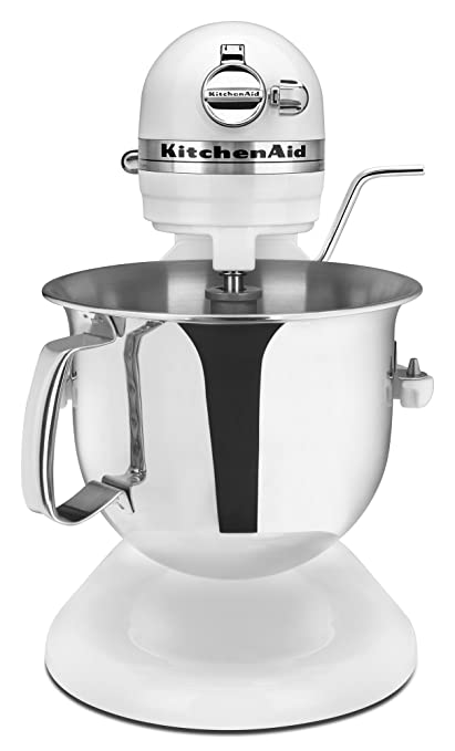 Amazon Com Kitchenaid Professional 6000 Hd Ksm6573cwh Stand Mixer