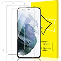 GiiYoon-3 Stuks Screen Protector Compatibel met Samsung Galaxy S21,9H Gehard Glas Schermbeschermer,[Eenvoudige…