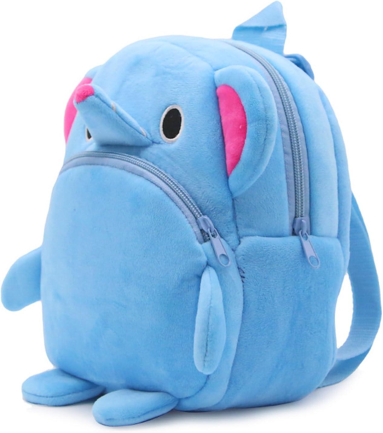 ni/ño correa ligera bolsa de escuela para ni/ño para beb/é elefante ni/ña compras edad de 1 a 3 a/ños Mochila infantil de peluche Elonglin mochila para viajes dise/ño de animales