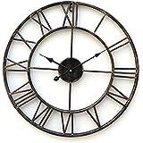 "LightInTheBox 20""H Country Style Metal wall clock Home Décor Clocks"