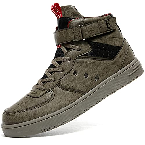 low priced 07449 cca35 ASHION Men Basketball Boots Trainers Sneakers High Top Ankle Boots Boy  Casual Shoes