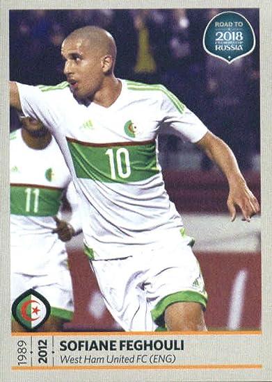 Panini Prizm World Cup 2014 Brazil Algeria Base # 3 Sofiane Feghouli