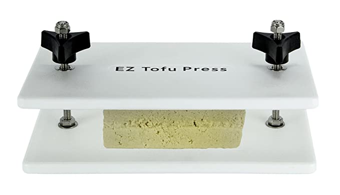 EZ Tofu Press - Removes Water from Tofu for Better Flavor and Texture