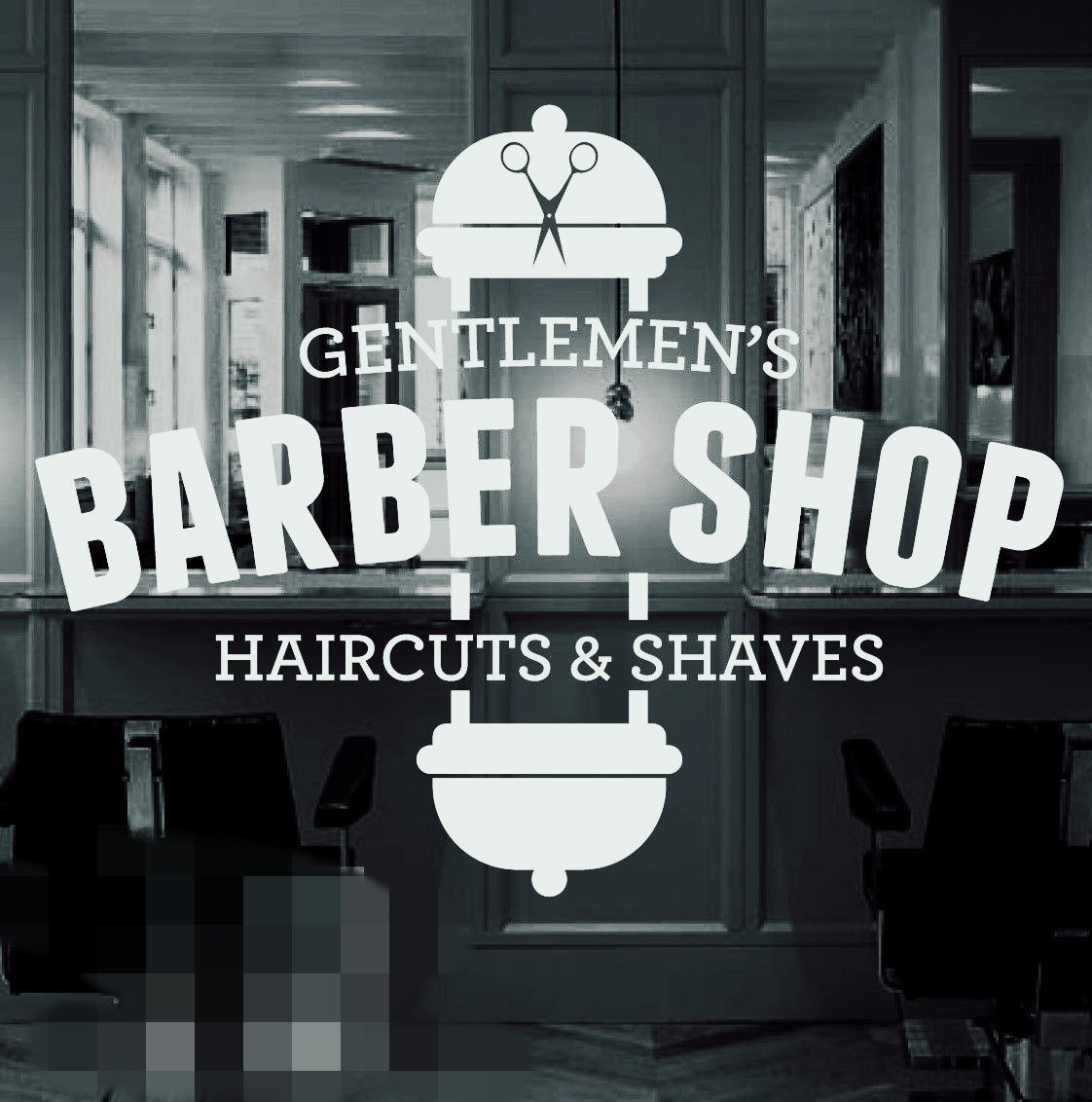 Amazon Barber Shop Vinyl Window Sticker Decal Hair Dressers