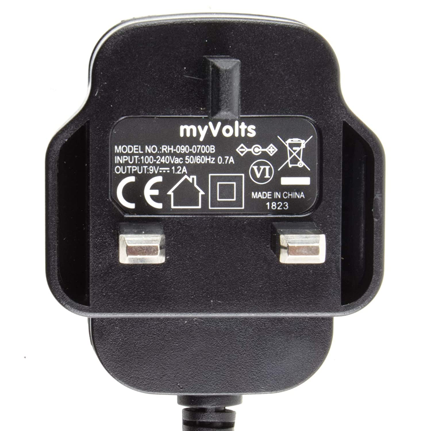 MyVolts 9V power supply adaptor compatible with Bastl: Amazon co uk