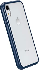 AmazonBasics iPhone XR Crystal Mobile Phone Case (Protective & Anti Scratch) - Blue