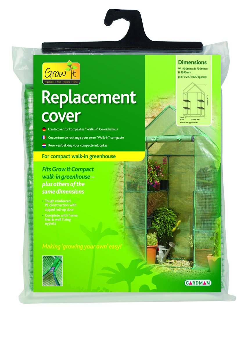 Gardman Compact Walk-In Greenhouse Replacement Film for 08727 08740