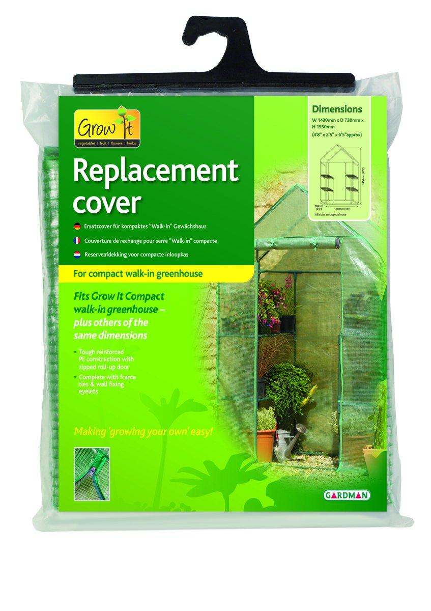 Gardman housse de protection grand formart pour serres de jardin 08740
