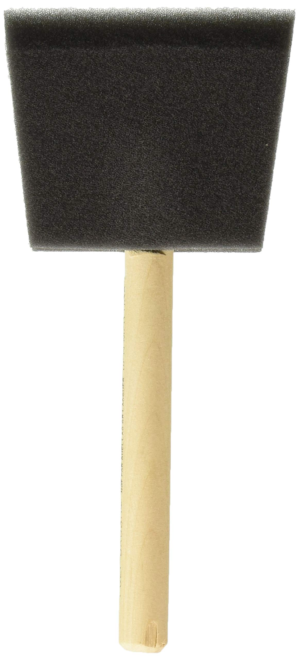 Jen Manufacturing Inc. 3 Not Not Available Jen Poly Foam Brush 3'' Box of 36, Pack of 36 by Jen Manufacturing