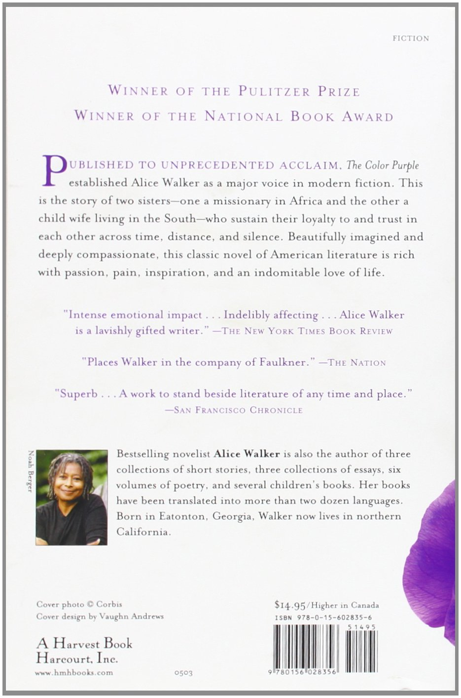 the color purple alice walker books ca