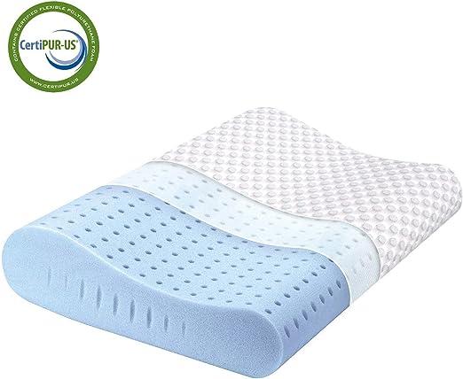 Amazon Com Milemont Memory Foam Pillow Cervical Pillow For Neck
