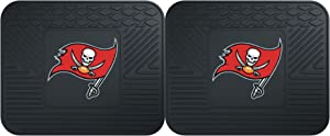"FANMATS 12361 NFL - Tampa Bay Buccaneers Utility Mat - 2 Piece, 14"" x 17"""