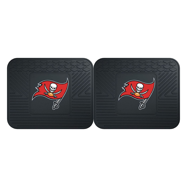 Tampa Bay Buccaneers Utility Mat 2 Piece FANMATS 12361 NFL 14 x 17