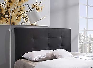 Marckonfort Tête de lit tapissée Carla 160 x 60 cm, Noir  Amazon.fr ... 68e84caef7ce